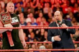 Paul Heyman responde al ultimatum de Kurt Angle a Brock Lesnar en WWE RAW