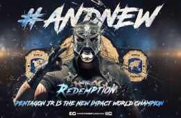 Pentagon Jr. nuevo campeón mundial de Impact