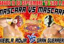 Aniversario 84 CMLL Cobertura y Resultados en vivo (1 de Septiembre)