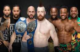 Primeras apuestas para los Smackdown Tag Team Championship en WWE TLC