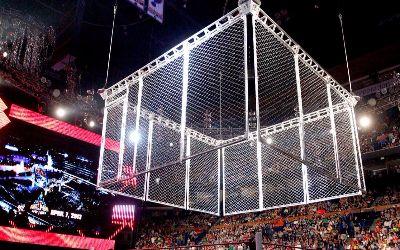 RAW Steel Cage Match Strowman