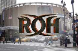 ROH no realizaría su debut en el Madison Square Garden