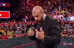 Razón por la que WWE realizó el segmento de Triple H en WWE RAW