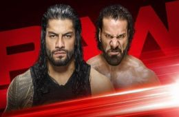Reigns vs Mahal RAW