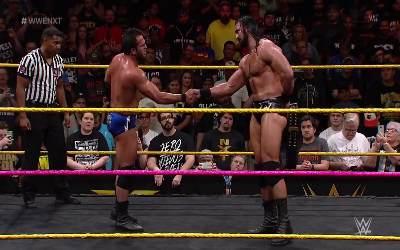 Resultados WWE NXT 4 de Octubre