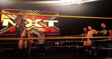 Resultados de NXT en San Antonio