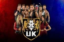 Resultados de las grabaciones de WWE NXT UK del 25 de Agosto