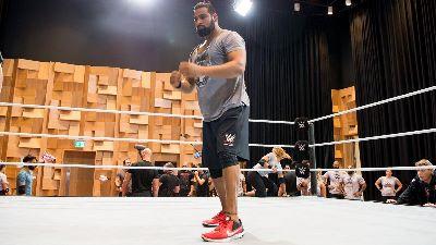 WWE noticias Rinku MLB