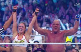 Ronda Rousey debuta con victoria en el ring de Wrestlemania 34