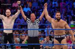 Rusev y Aiden English avanzan a la final del torneo en SmackDown