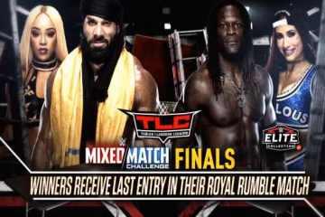 Se añade la final del Mixed Match Challenge a WWE TLC