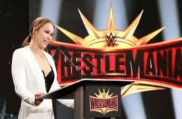 Se habrían revelado los planes originales para Ronda Rousey en Wrestlemania