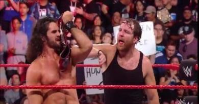 Dean Ambrose & Seth Rollins retienen los campeonatos de parejas de RAW en WWE No Mercy