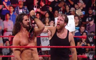 Seth Rollins & Dean Ambrose retienen en WWE No Mercy 2017