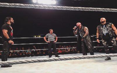 Seth Rollins en Saint John anoche