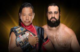 Shinsuke Nakamura vs Rusev por el título de Estados Unidos en el KickOff de WWE Crown Jewel