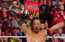 Shinsuke Nakamura es el nuevo campeón de Estados Unidos en Extreme Rules