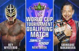 SmackDown Live 1000 apuestas para el Nakamura vs Rey Mysterio