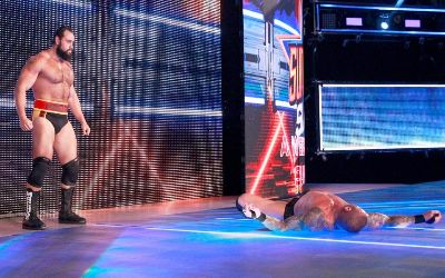 Rusev atacó a Randy Orton en Smackdown Live