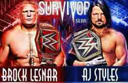Survivor Series Brock Lesnar vs Daniel Bryan