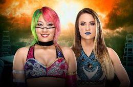 TLC Asuka vs Emma WWE