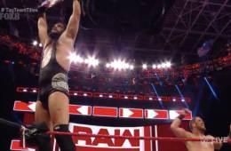 The B-Team retienen los RAW Tag Team Championship en WWE RAW