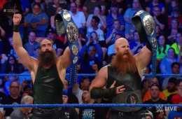 The Bludgeon Brothers retienen los campeonatos por parejas de SmackDown Live