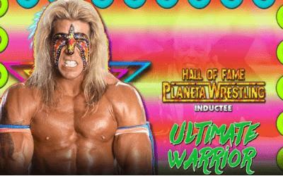 The Ultimate Warrior Planeta Wrestling Hall of Fame 2016