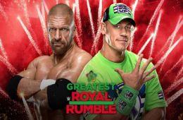Triple H vs John Cena en The Greatest Royal Rumble
