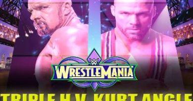 Triple H vs Kurt Angle