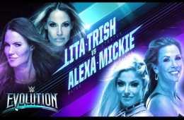 Trish Stratus y Lita se enfrentarán a Mickie James y Alexa Bliss en WWE Evolution