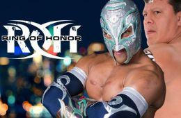Ultimo Guerrero, Titán y Atlantis en ROH