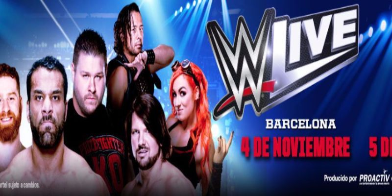 WWE Madrid 2017