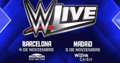 WWE España WWE Madrid WWE Barcelona