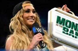 WWE Noticias Carmella podría finalizar racha Asuka