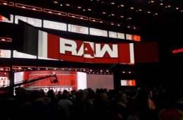 WWE RAW set 2018