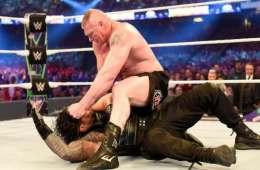 WWE está planteando dos finales para el combate de Roman Reigns contra Brock Lesnar en Summerslam