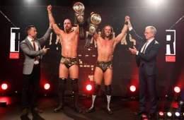 Zack Gibson y James Drake son los primeros NXT UK Tag Team Champions