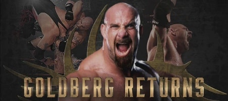 goldberg regresa a wwe