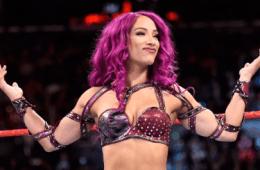 Sasha Banks en WWE RAW