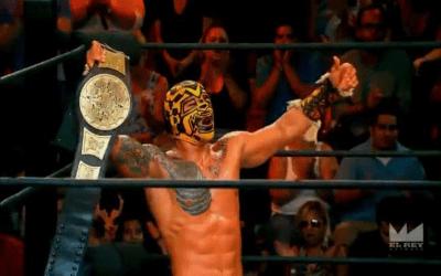Ricochet con el título de Lucha Underground