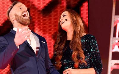 WWE Maria y Mike Kanellis