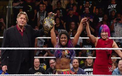 Ember Moon nueva campeona de NXT