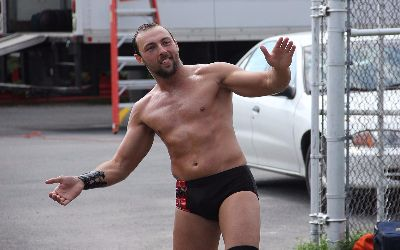 Colin Delaney en WWE