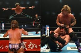 Chris Jericho vs Kenny Omega Wrestle Kingdom 12