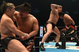 Minoru Suzuki Wrestle Kingdom 12