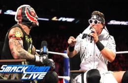 Por qué Rey Mysterio no luchó en WWE Live Event
