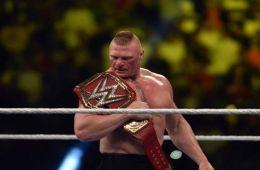 Revelado el nuevo contrato de Brock Lesnar tras su victoria en WWE Crown Jewel.
