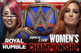 Asuka vs Becky Lynch