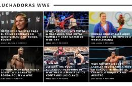 planeta wrestling luchadoras wwe